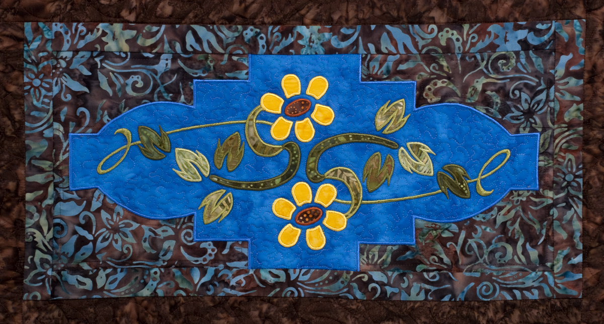 Garden nouveau quilt annas awesome applique designs