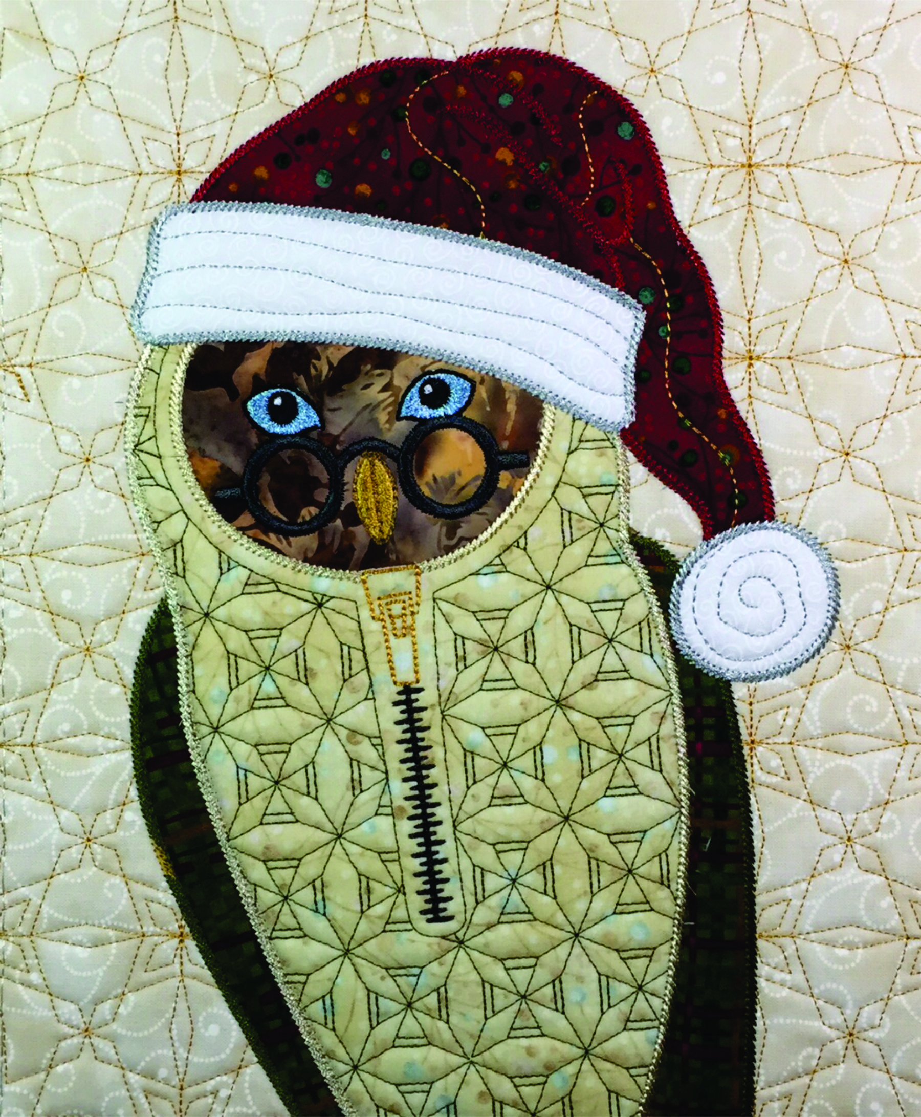 Used Embroidery Machines >> Santa Owls   Annas Awesome Applique Designs